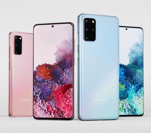 Samsung Galaxy S20 wyświetlacz