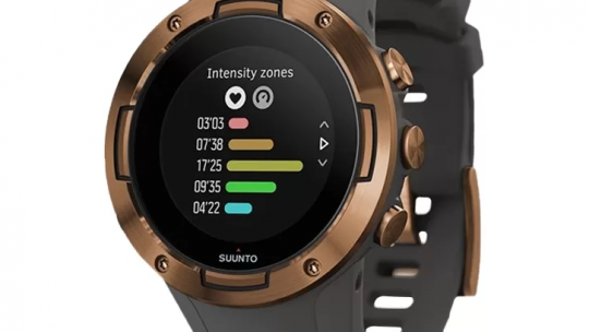 Suunto 5 Graphite Copper – Smartwatch dla osób aktywnych fizycznie